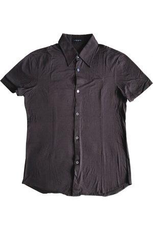 Costume National Men Shirts - Burgundy Cotton Shirts