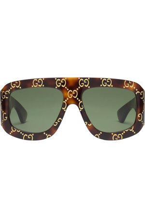 Gucci Men Aviators - GG aviator-frame sunglasses