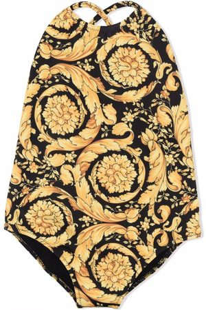 VERSACE Baby Swimsuits - Baroque-print swimsuit