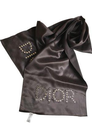 Dior Grey Silk Scarves