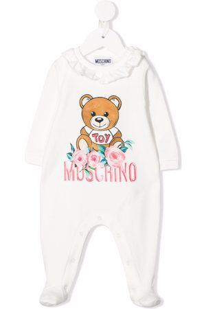 Moschino Pajamas - Embroidered floral bear pyjamas