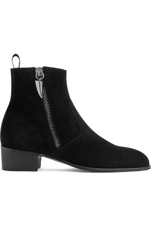 Giuseppe Zanotti New York suede ankle boots