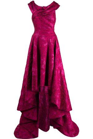 Tadashi Shoji Floral-embroidered sleeveless dress