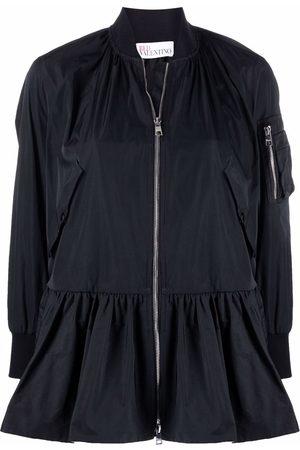 RED Valentino Flare-hem bomber jacket
