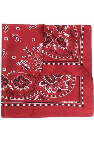 Dsquared2 Paisley-print bandana scarf