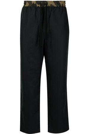 A BATHING APE® Camouflage-print waistband trousers