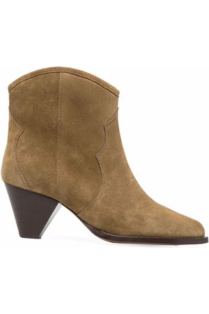 Isabel Marant Tapered-heel Western-style boots