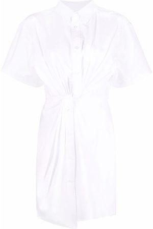 Alexander Wang Ruched-detail shirt dress