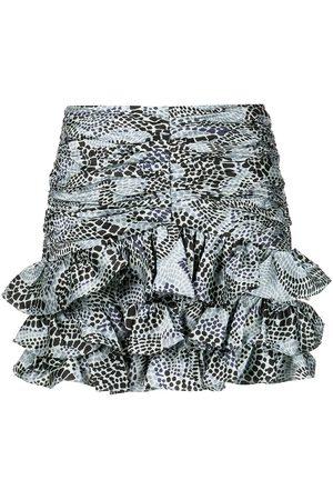 Cinq A Sept Alisha ruffled miniskirt
