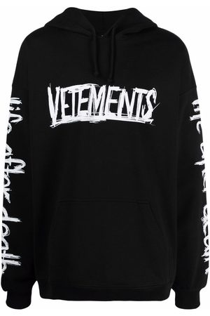 Vetements World Tour printed hoodie