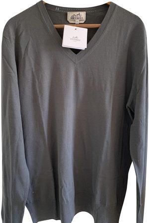 Hermès Grey Wool Knitwear & Sweatshirts