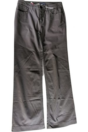 Chloé Grey Cotton Trousers