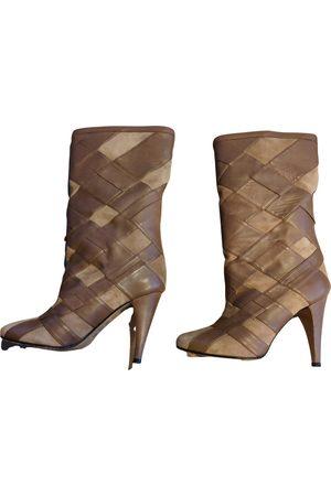 Stephane Kélian Camel Leather Boots