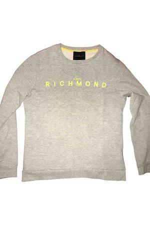 John Richmond Grey Cotton Knitwear & Sweatshirts
