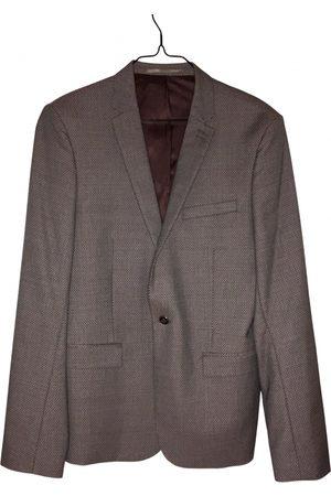 The Kooples Men Jackets - Burgundy Cotton Jackets