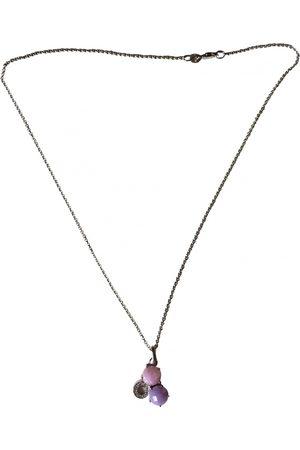José Luis White gold pendant