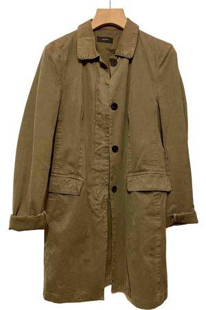 Joseph Khaki Cotton Trench Coats
