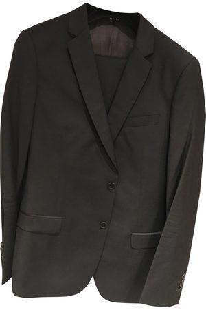 De Fursac Anthracite Wool Jackets