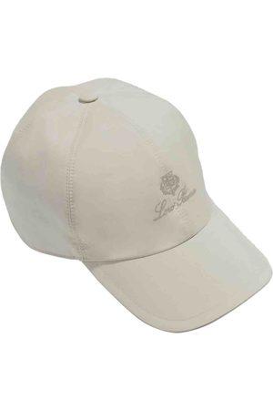 Loro Piana Ecru Cotton Hats & Pull ON Hats