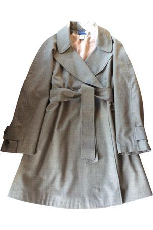 Kenzo Grey Trench Coats