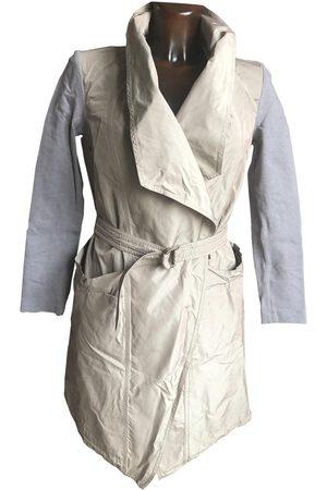 Brunello Cucinelli Ecru Silk Trench Coats