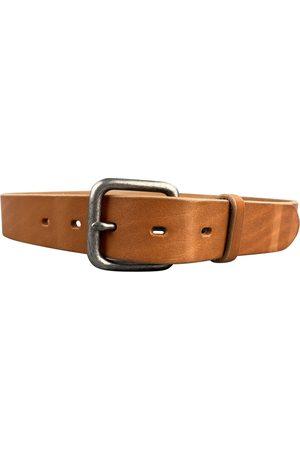 AUTRE MARQUE Ecru Leather Belts