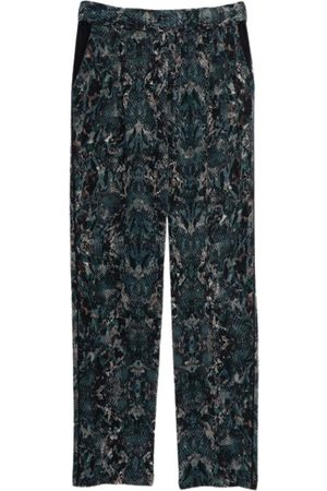 Intermix Multicolour Silk Trousers