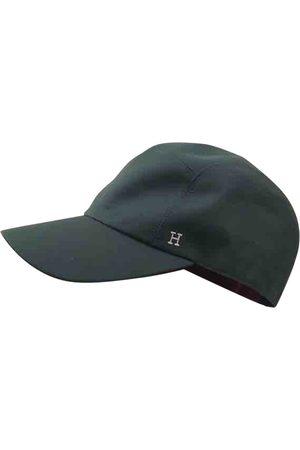 Hermès Grey Cotton Hats & Pull ON Hats