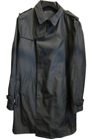 Costume National Navy Synthetic Coats