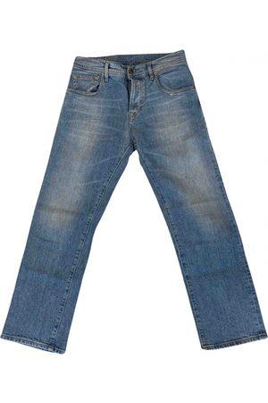 TRUE NYC. Women Jeans - Turquoise Denim - Jeans Jeans