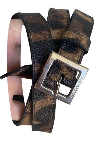 Dolce & Gabbana Cloth Belts