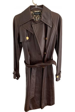 Dolce & Gabbana Leather trench coat