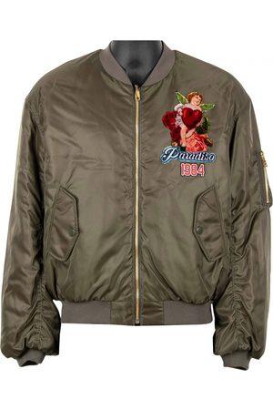 Dolce & Gabbana Khaki Synthetic Jackets