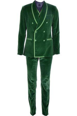 Dolce & Gabbana Velvet Suits