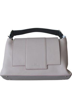 Elisabetta Franchi Leather bowling bag