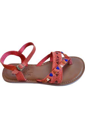 TOMS Leather sandal