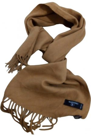 VALENTINO GARAVANI Camel Wool Scarves