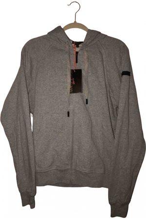 Roberto Cavalli Grey Cotton Knitwear & Sweatshirts