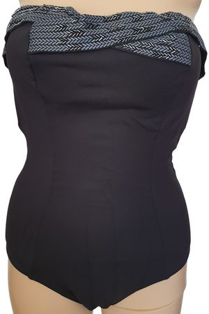 Hermès Anthracite Polyester Swimwear
