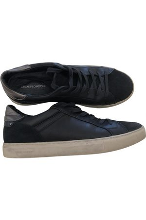 Crime london Leather Trainers