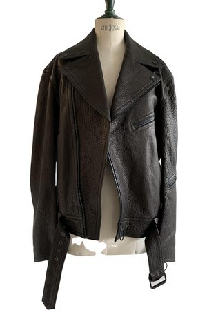OFF-WHITE Men Leather Jackets - Leather Jackets