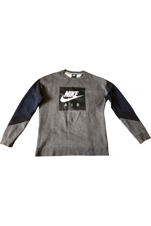 Nike Anthracite Cotton Knitwear & Sweatshirts