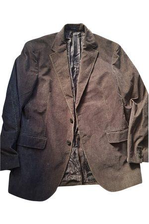 Kenzo Khaki Velvet Jackets