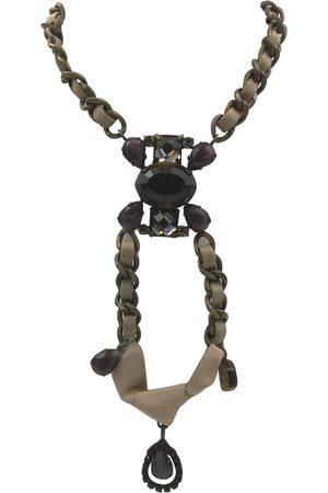 Max Mara Leather Necklaces