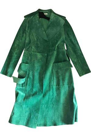 Céline Suede Trench Coats
