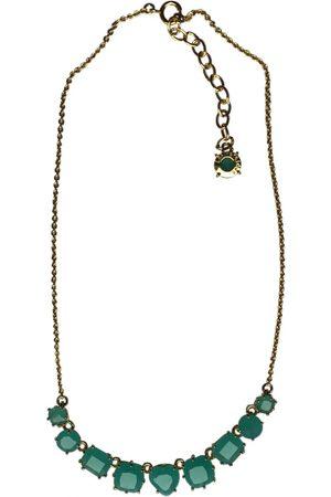 Les Néréides Turquoise Metal Necklaces