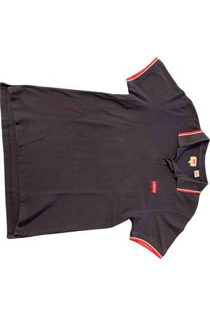 Levi's Navy Cotton Polo Shirts