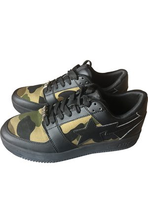 AAPE BY A BATHING APE Leather Trainers