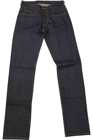 Joseph Navy Cotton - elasthane Jeans
