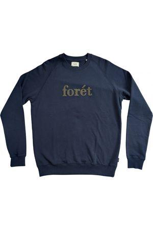 Forét Navy Cotton Knitwear & Sweatshirts